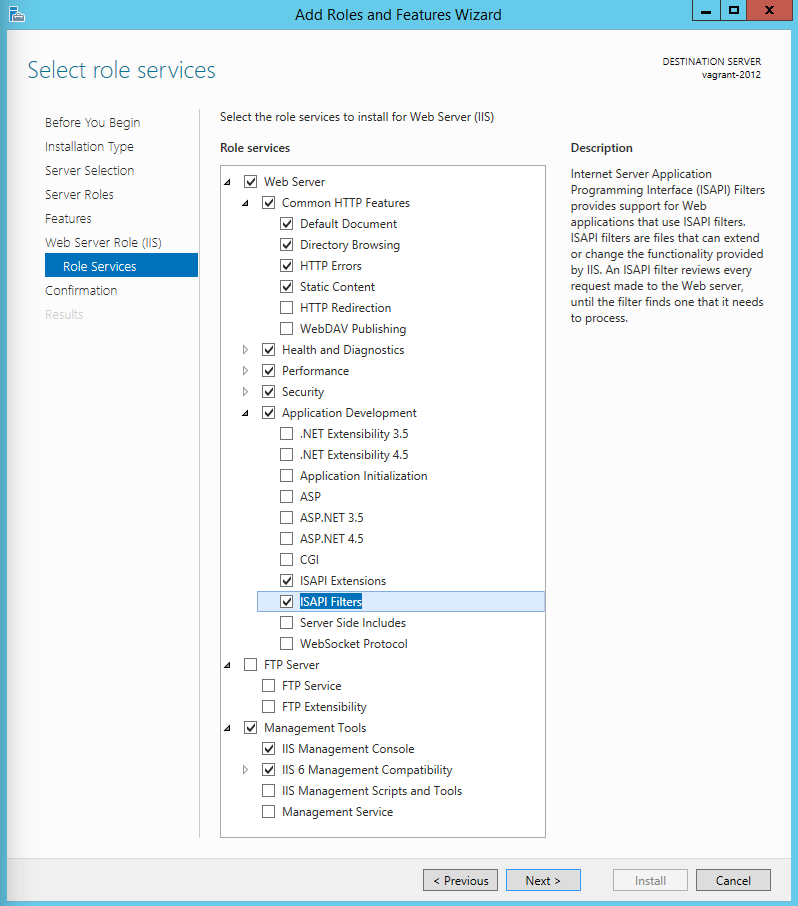 OMERO web IIS deployment (Windows) — OMERO 5 2 7 documentation